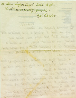 GEORGE WASHINGTON CARVER - AUTOGRAPH LETTER SIGNED 09/06/1932