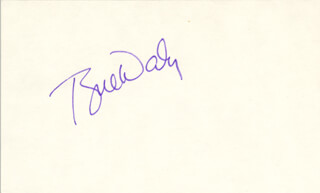 TYNE DALY - AUTOGRAPH