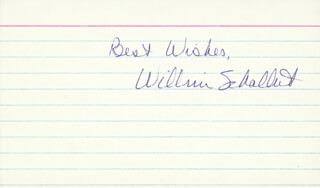 WILLIAM SCHALLERT - AUTOGRAPH SENTIMENT SIGNED