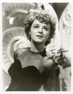 JENNIFER HOLT - AUTOGRAPHED INSCRIBED PHOTOGRAPH