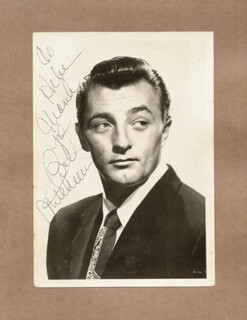 ROBERT MITCHUM - AUTOGRAPHED INSCRIBED PHOTOGRAPH