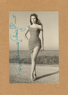 ROSSANNA SCHIAFFINO - AUTOGRAPHED SIGNED PHOTOGRAPH
