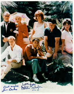 GILLIGAN'S ISLAND TV CAST - AUTOGRAPHED SIGNED PHOTOGRAPH CO-SIGNED BY: JIM BACKUS, NATALIE SCHAFER