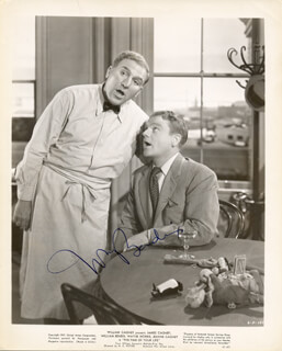 WILLIAM BENDIX - AUTOGRAPHED SIGNED PHOTOGRAPH