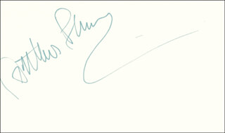 ARTHUR F. BURNS - AUTOGRAPH