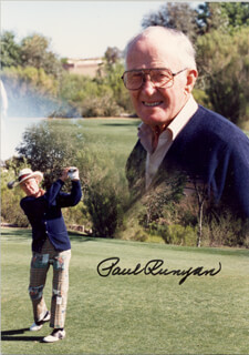 PAUL RUNYAN - AUTOGRAPHED SIGNED PHOTOGRAPH