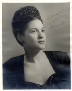 THELMA ALTMAN - AUTOGRAPHED INSCRIBED PHOTOGRAPH