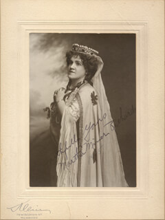 MARTHA MINER RICHARDS - AUTOGRAPHED SIGNED PHOTOGRAPH