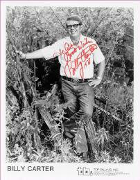 BILLY CARTER - AUTOGRAPHED INSCRIBED PHOTOGRAPH 1978