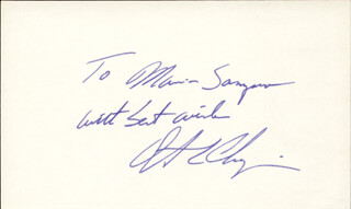 Autographs: DWIGHT CHAPIN - AUTOGRAPH NOTE SIGNED