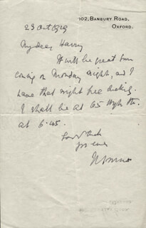 PRIME MINISTER JAN C. SMUTS (SOUTH AFRICA) - AUTOGRAPH LETTER SIGNED 10/23/1929