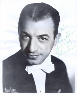 GUS ARNHEIM - AUTOGRAPHED INSCRIBED PHOTOGRAPH