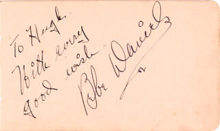 BEBE DANIELS - AUTOGRAPH NOTE SIGNED