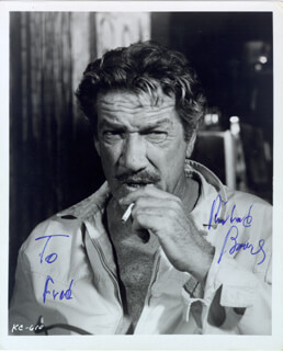 RICHARD BOONE - AUTOGRAPHED INSCRIBED PHOTOGRAPH
