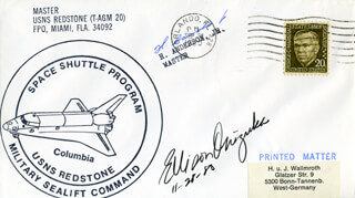 LT. COLONEL ELLISON S. EL ONIZUKA - COMMEMORATIVE ENVELOPE SIGNED 11/28/1980 CO-SIGNED BY: H. ANDERSON JR.