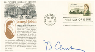 PRESIDENT WILLIAM J. BILL CLINTON - FIRST DAY COVER SIGNED
