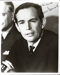 Autographs: CHRISTIAAN BARNARD - PHOTOGRAPH SIGNED 01/25/1993