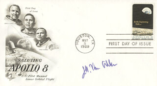 JAMES A. VAN ALLEN - FIRST DAY COVER SIGNED