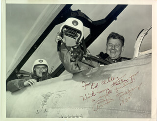 Autographs: ARTHUR GODFREY - INSCRIBED PHOTOGRAPH SIGNED CIRCA 1950