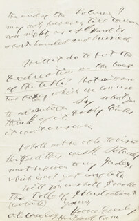 HORACE GREELEY - AUTOGRAPH LETTER SIGNED 04/07/1864