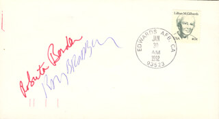 RAY BRADBURY - ENVELOPE SIGNED CO-SIGNED BY: ROBERTA BORDEN