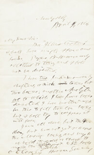 HORACE GREELEY - AUTOGRAPH LETTER SIGNED 04/09/1864