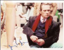 TOMMY LEE JONES - AUTOGRAPHED INSCRIBED PHOTOGRAPH