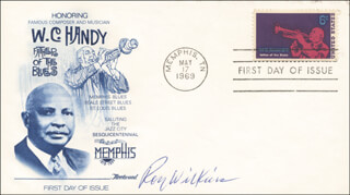 ROY WILKINS - FIRST DAY COVER SIGNED
