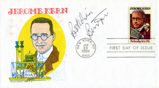 BERNIE TAUPIN - FIRST DAY COVER SIGNED