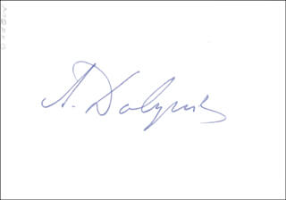 ANATOLY F. DOBRYNIN - AUTOGRAPHED SIGNED PHOTOGRAPH