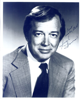 HUGH DOWNS - AUTOGRAPHED SIGNED PHOTOGRAPH