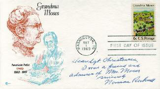 NORMAN ROCKWELL - AUTOGRAPH NOTE SIGNED
