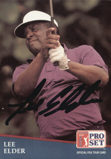 Autographs: LEE ELDER - TRADING/SPORTS CARD SIGNED