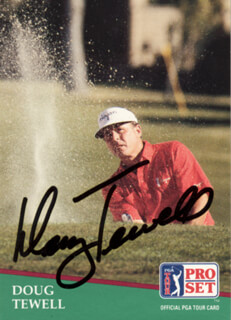DOUG TEWELL - TRADING/SPORTS CARD SIGNED