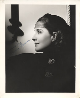 NORMA SHEARER - AUTOGRAPHED SIGNED PHOTOGRAPH