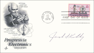 Autographs: JACK S. KILBY - FIRST DAY COVER SIGNED