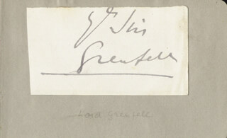 SIR WILFRED T. GRENFELL - AUTOGRAPH SENTIMENT SIGNED
