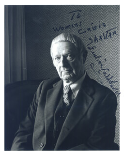 ERSKINE CALDWELL - AUTOGRAPHED INSCRIBED PHOTOGRAPH