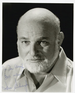 JOHN SCHLESINGER - AUTOGRAPHED INSCRIBED PHOTOGRAPH