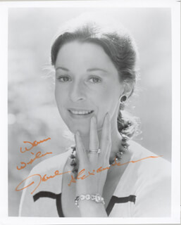 JANE ALEXANDER - AUTOGRAPHED SIGNED PHOTOGRAPH