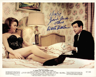 WALTER MATTHAU - AUTOGRAPHED INSCRIBED PHOTOGRAPH 01/10/1979