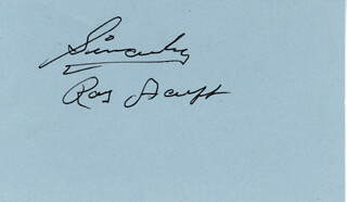 ROY ACUFF - AUTOGRAPH SENTIMENT SIGNED