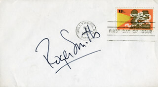 ROGER SMITH (ACTOR) - FIRST DAY COVER SIGNED