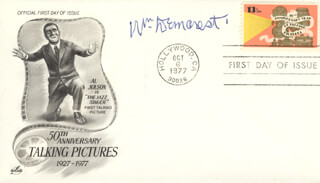 WILLIAM DEMAREST - FIRST DAY COVER SIGNED