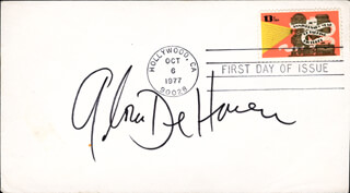 GLORIA DEHAVEN - FIRST DAY COVER SIGNED