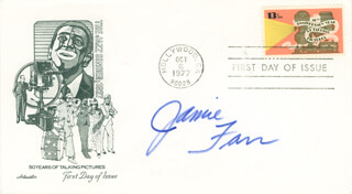 JAMIE FARR - FIRST DAY COVER SIGNED