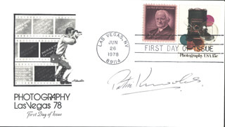 PATRIC KNOWLES - FIRST DAY COVER SIGNED