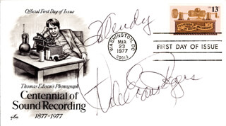 DALE EVANS - INSCRIBED FIRST DAY COVER SIGNED