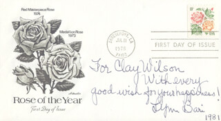 LYNN BARI - AUTOGRAPH NOTE SIGNED 1981