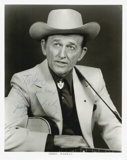 JIMMY WAKELY - AUTOGRAPHED INSCRIBED PHOTOGRAPH